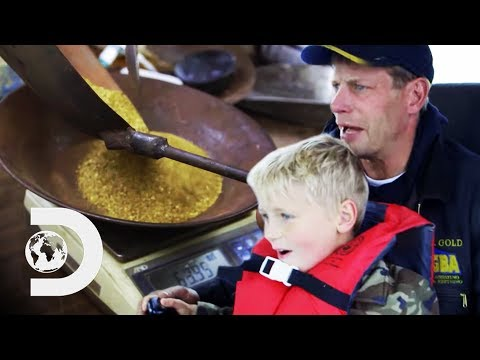 Will This Gold Haul Get Mr Gold's Season Back On Track?   Gold Divers