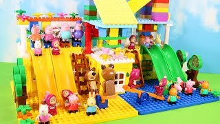 Peppa Pig Legos House Construction Sets - Lego Duplo House Creations Toys For Kids #4