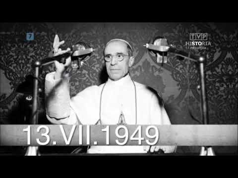 13 lipca 1949 roku, papież Pius XII wydał dekret z ekskomuniką…