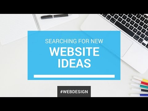 Searching for New Website Ideas.
