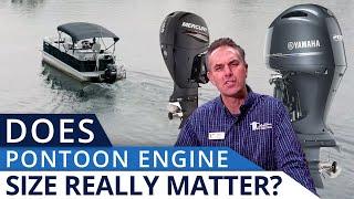 Pontoon Boat Engine Size
