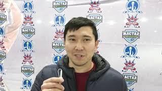 Омарбеков Ринат после матчей «Актобе» - «Горняк»