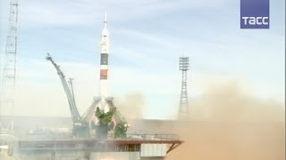 """Космический корабль """"Союз МС-04"""" отправился к МКС"""