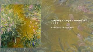 Symphony in D major, H. 663