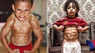A Legerősebb Gyerekek a Világon! Akik Hatalmas Izmokat Növesztettek!