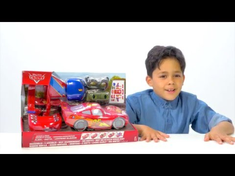 CARS | Disney •Pixar Cars Lightning McQueen Unboxing Video | Official Disney Pixar