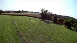 Walkera Rodeo 150 FPV, a quick flight at the disc golf course.