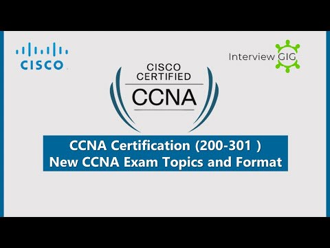 CCNA Exam 200-301 | Exam Topics and New Format | New Cisco ...