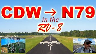 RV-8 to Northumberland, PA. Ultimate VFR, RV-8 tour, and G3x demo