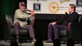 Brett Favre back in Green Bay for 'Chalk Talk'