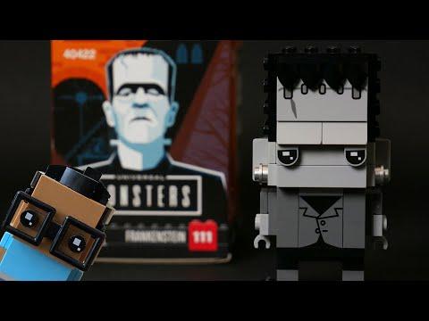 Vidéo LEGO BrickHeadz 40422 : Frankenstein (Universal Monsters)