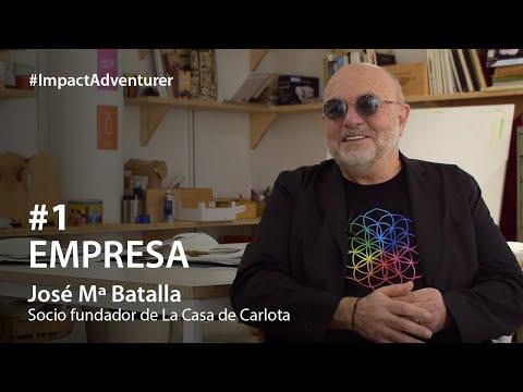 Watch videoJosé Mª Batalla, fundador de La Casa de Carlota