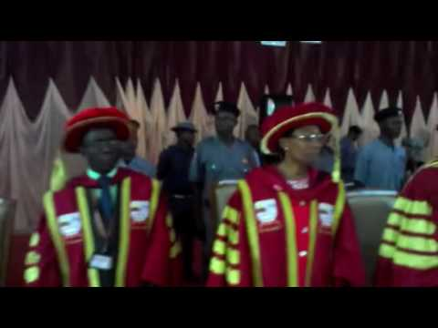 Ekiti State Anthem by J. Ola. Ologunde:EKSUniversity