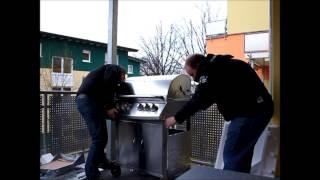 Unboxing BBQ Bull Gasgrill HD