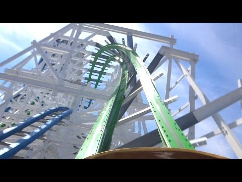 Twisted Colossus POV Six Flags Magic Mountain