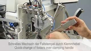 Швейный автомат для изготовления кармана в рамку с автоматической подачей обтачки, клапанов и мешковины DURKOPP ADLER 755-10 S video