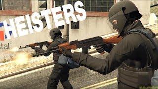Heisters - GTA 5 Machinima Movie Cinematic Film Bank Robbery Heist