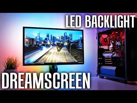 DreamScreen - Ambilight an JEDEM Bildschirm nachrüsten!