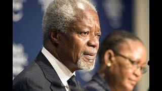 Former UN chief Kofi Annan dies - VIDEO