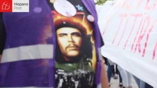 Grupo de ultraderecha boicotea acto de Podemos en Madrid