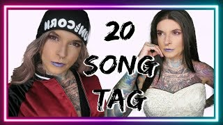 20 SONG TAG - DRAGQUEEN ♡ Trew Unicorn