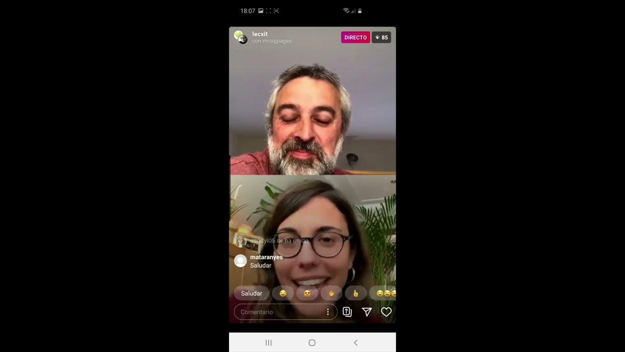 Directe a Instagram live amb Marta Roig - LECXIT