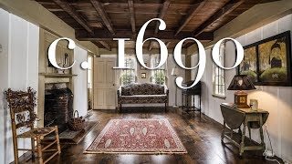 This May Be Oldest House For Sale In The Country... Built In 1690!