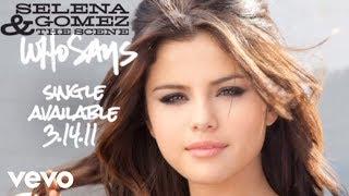 Kadr z teledysku Who Says tekst piosenki Selena Gomez & The Scene