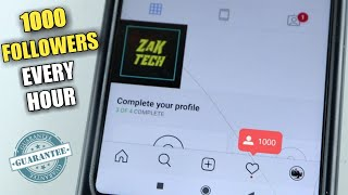 How to get free Instagram followers 2019 | 1000 followers every hour  *guaranteed*