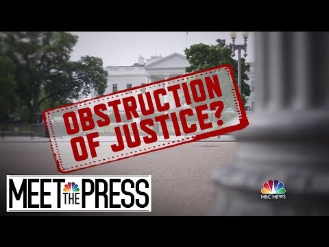 After Mueller Files His Report, Battle Moves To The Hill | Meet The Press | NBC News