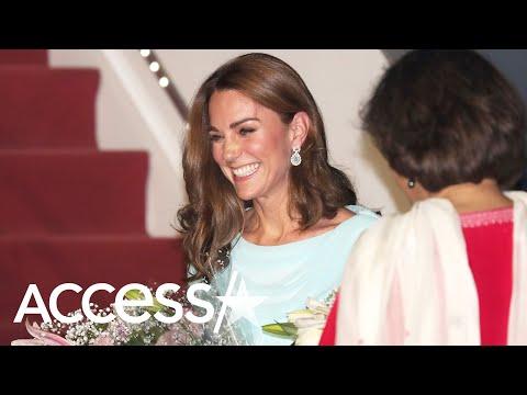 Kate Middleton Puts Modern Twist On Princess Diana's Vintage Style From Pakistan Tour