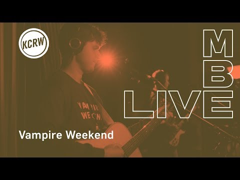 "Vampire Weekend Perofrming ""Harmony Hall"" Live On KCRW - KCRW"