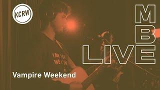 "Vampire Weekend Perofrming ""Harmony Hall"" Live On KCRW"