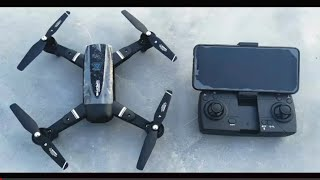 Best Foldable Wi-Fi Camera Drone Pioneer GD 118 Drone lowest price Full Review Video #Vishal_Saxena