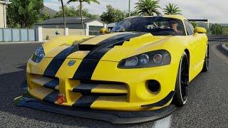 Dodge Viper SRT10 ACR Horizon Edition 2008 - Forza Horizon 3 - Test Drive Free Roam Gameplay (HD)