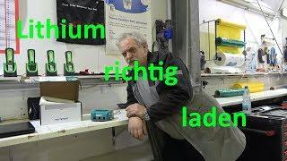 WCS Goch: Lithium Akku richtig laden