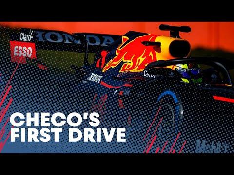 セルジオ・ペレスがRB16Bをテストドライブ動画。F1 2021 レッドブル「RB16B」