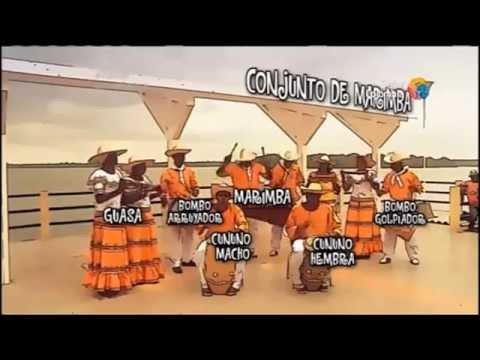 CONJUNTO DE MARIMBA Instrumentos Musicales Ancestrales del Pacífico Colombiano