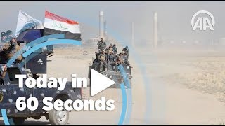 Today in 60 seconds (Oct. 16, 2017) - Anadolu Agency