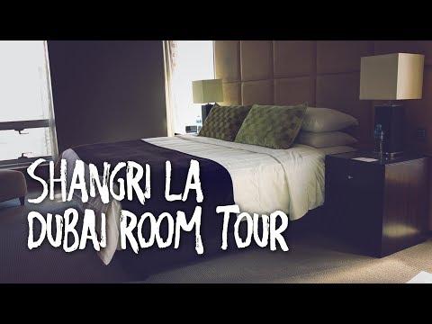 SHANGRI LA DUBAI HOTEL ROOM TOUR