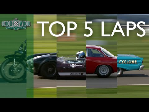 5 Best Laps From Goodwood Revival Qualifying 2018