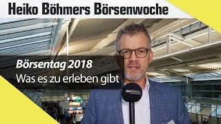 Böhmers Börsenwoche: Direkt aus München vom Börsentag 2018