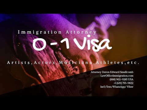 O1 Visa Lawyer - US Visas for Artists, Actors, Athletes, Musicians and Others
