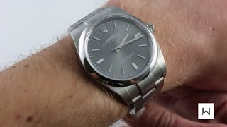 Rolex Oyster Perpetual 39 Ref. 114300 Luxury Watch Review