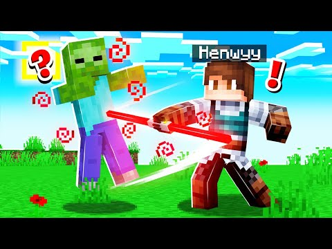 Playing MINECRAFT with a LIGHTSABER!
