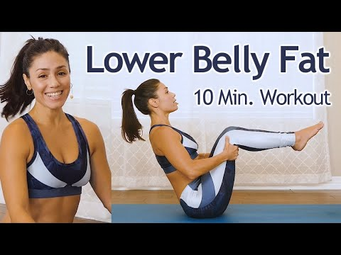 10 Minute Lower Belly Blast with Eliz | How to Target Low Abs, No Equipment Workout, At Home Fitness