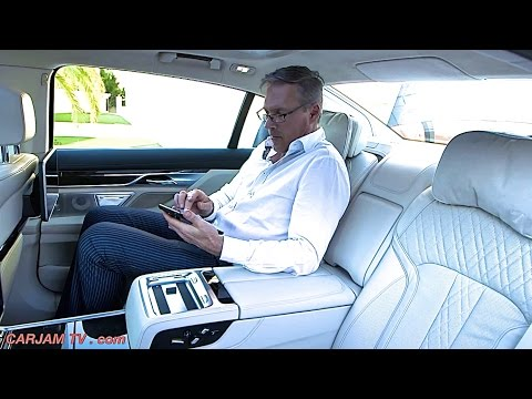 BMW 7 Series 2016 INTERIOR BMW G11/G12 Commercial BMW 750Li xDrive M Sport CARJAM TV HD
