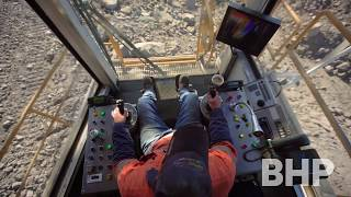 Ever wonder what it's like to be a dragline operator?