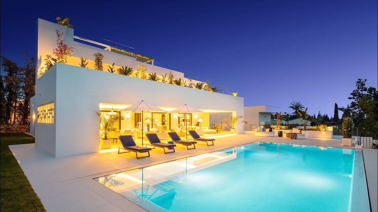 New Modern Luxury Chic Villa with Designer Interiors in Nueva Andalucía