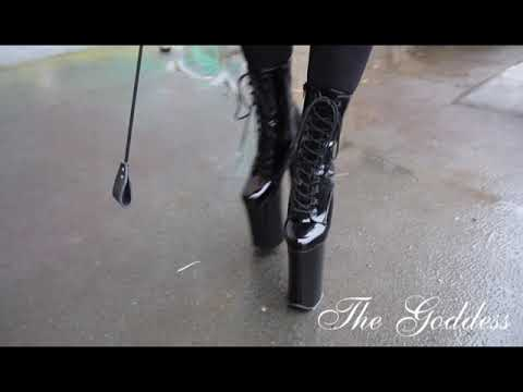 The Goddess wearing Pleaser Beyond 1020 High Heels